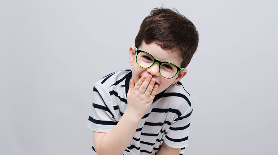 באנר kids - משקפי ראייה לילדים