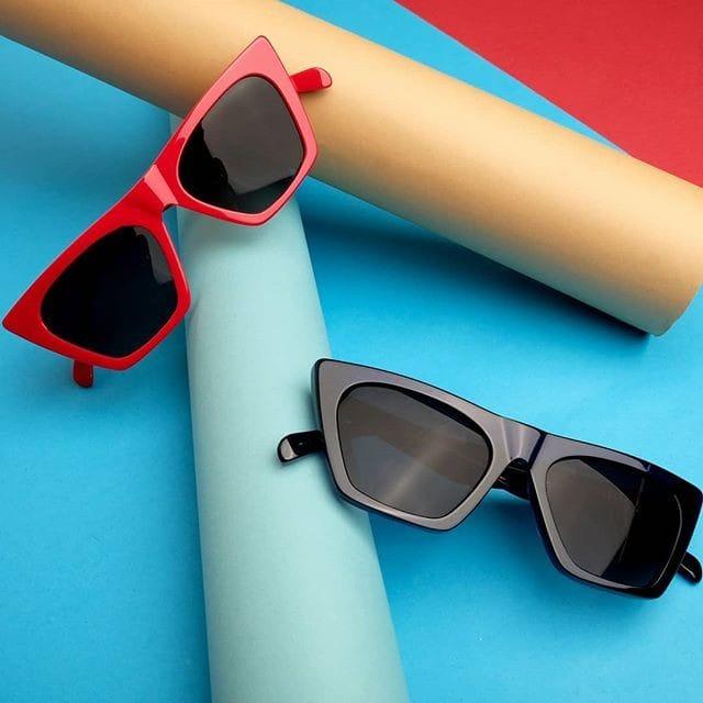 קבלו את הלהיט התורן: משקפי השמש החדשים מבית קויה!  עיצוב חזק, חד והכי נכון לעכשיו. אז מה הבחירה שלכם אדום או שחור? 🖤😎❤️ #Opticana  #RespectYourEyes